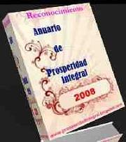 Reconcimiento Anuario de Prosperidad Integral 2008