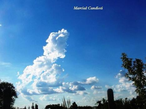 Nubes en Merlo - San Luis - Argentina